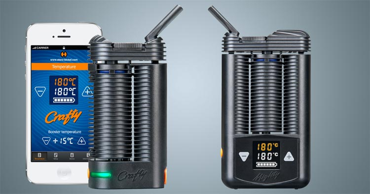 Mighty e Crafty vaporizzatori a confronto