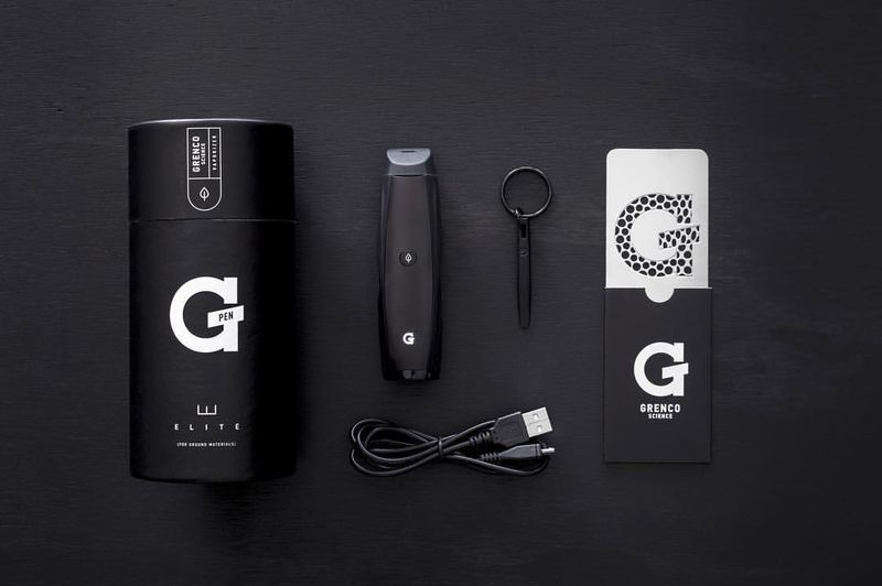 G Pen Elite Stift-Vaporizer unboxing