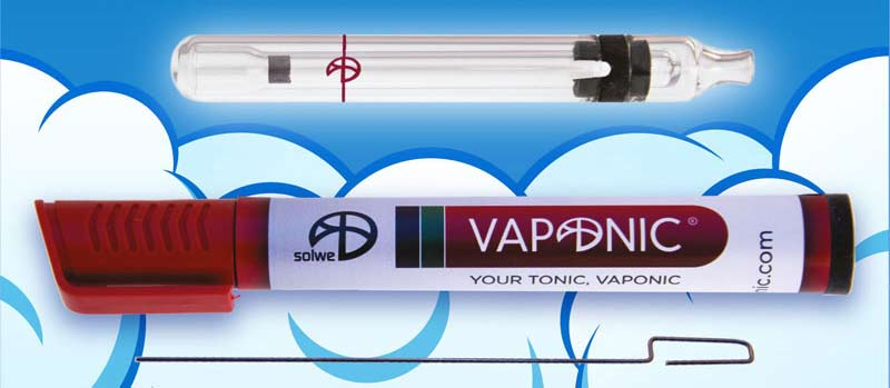 vaponic glass portable vaporizer