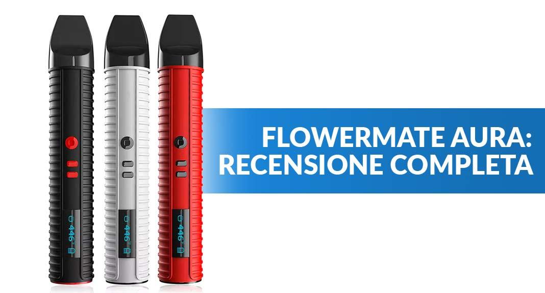 Flowermate Aura vaporizzatore a penna