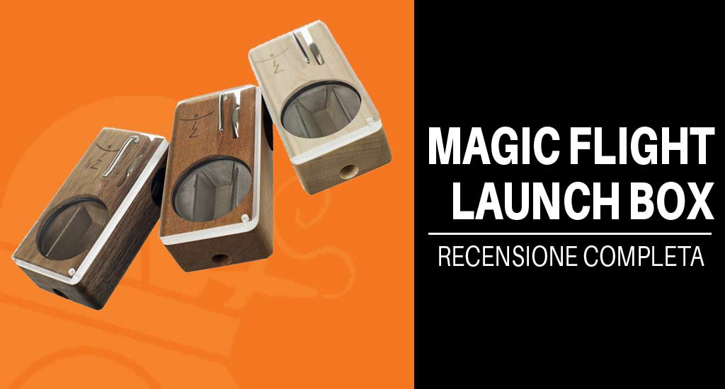 Magic Flight Launch Box vaporizzatore portatile