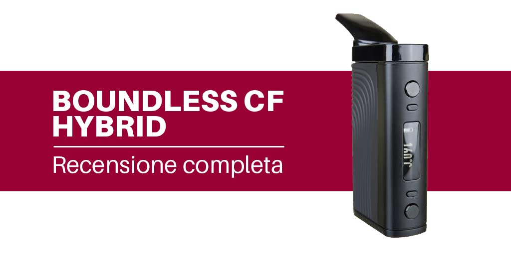 Boundless CF Hybrid vaporizzatore portatile
