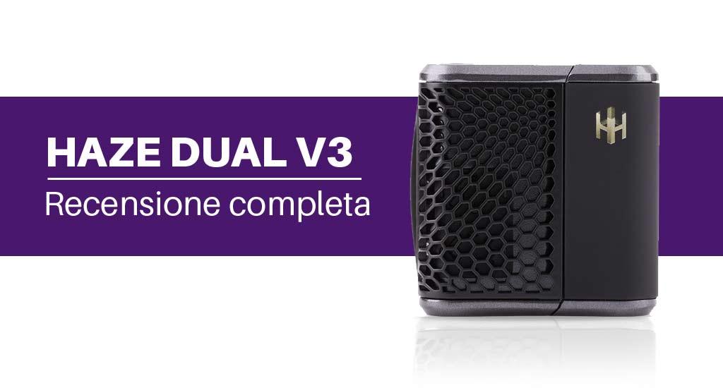 Haze Dual V3 vaporizzatore portatile