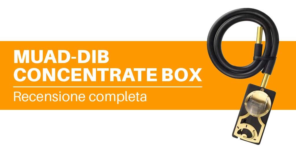 Muad-Dib Concentrate Box vaporizzatore portatile