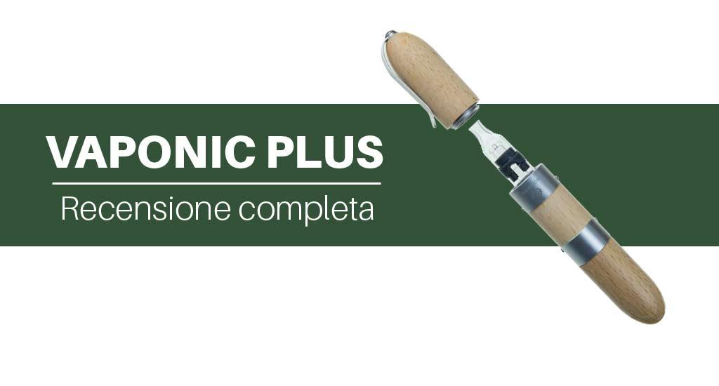 Vaponic Plus vaporizzatore portatile