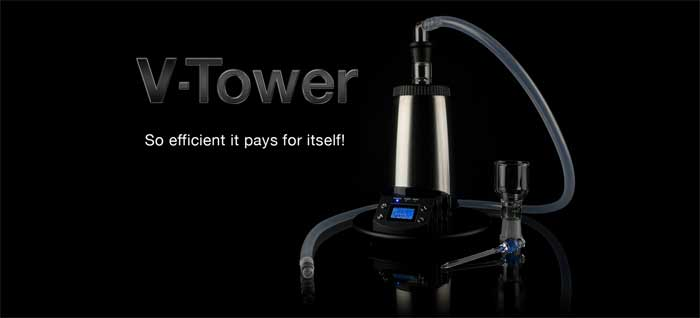 Arizer V-Tower Tisch Vaporizer Test