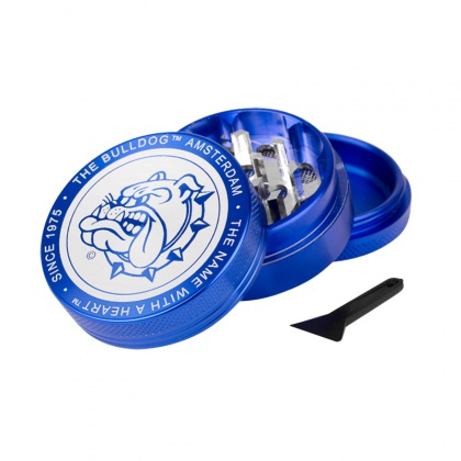 The Bulldog - Grinder di Metallo Blu