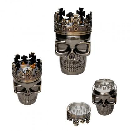 King Skull - Tritaerbe in Metallo