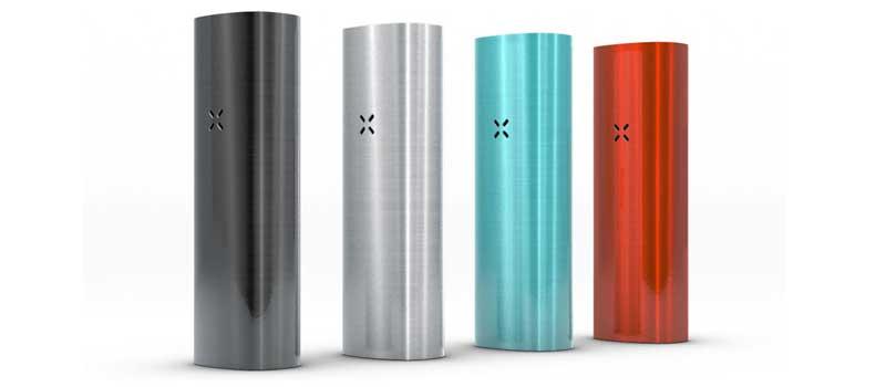 Pax 2 está disponível em 6 cores diferentes
