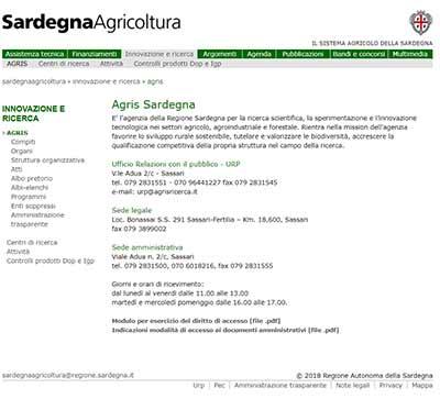 sito agris sardegna Agris Sardegna
