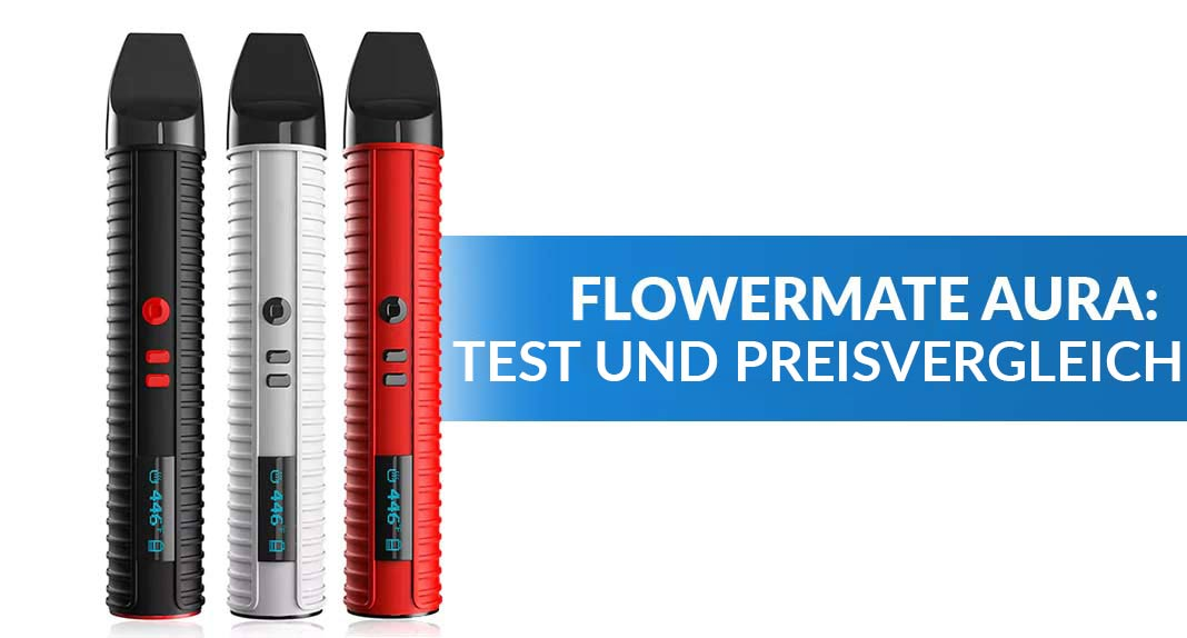flowermate aura pen vaporizer test