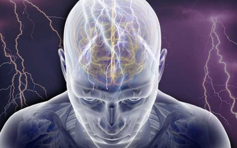 Illustrazione dei centri colpiti da epilessia